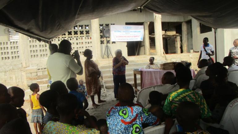 Mission de Mme Isabel au Bénin